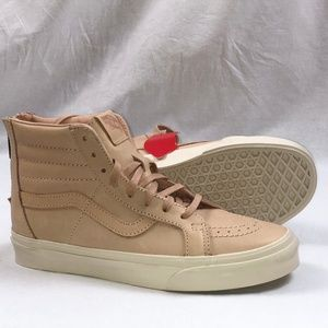 aec2863c6c Vans Shoes - Vans SK8-Hi Reissue Zip Veggie Tan Leather